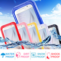 S7 Edge Box Waterproof Transparent Case For Samsung S3 S4 S5 S6 Edge Plus S7 Edge Note 4 Note 5 Phone Cover Sports Swimming Capa