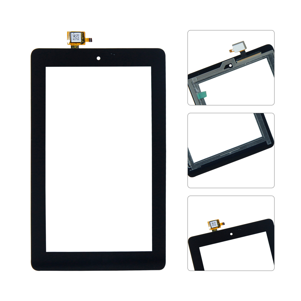 For Amazon Fire 7 2015 SV98LN Touch Screen Glass Digitizer Replacement