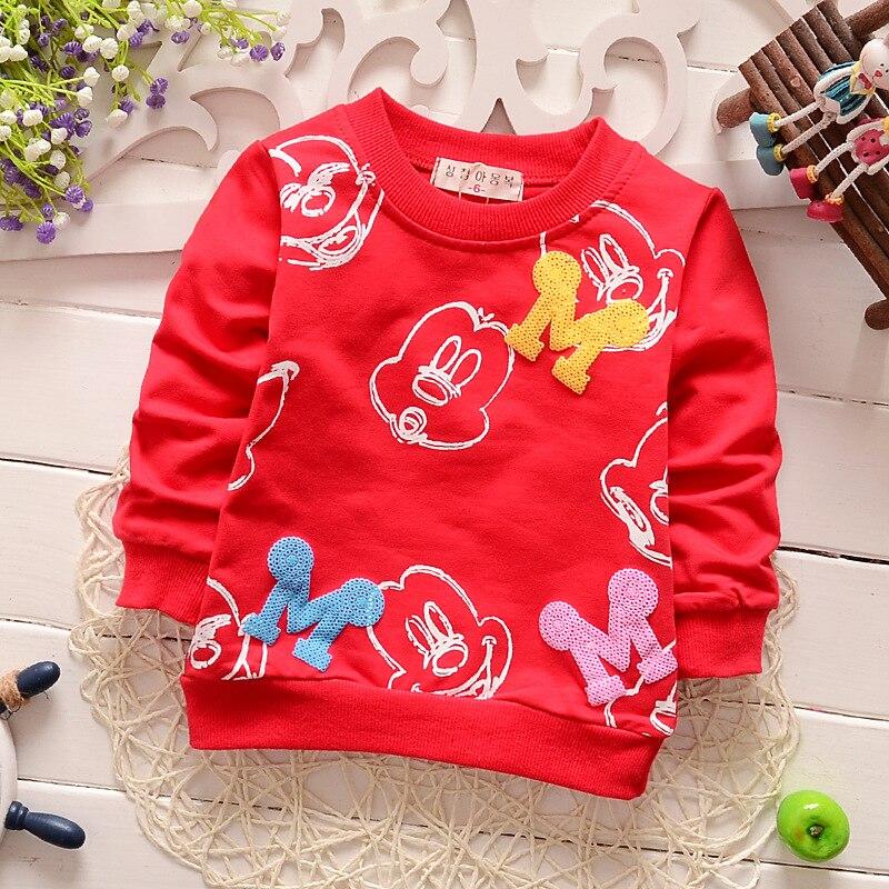 Bebek çocuk T-Shirt 2016 yeni kız erkek karikatür gömlek çocuk Sevimli tees tops çocuk giyim 0-3agegood kalite 4 Renk 1603