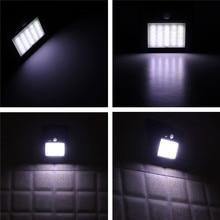25 LED PIR Motion Sensor Solar Powered Wall Lamp  2835smd Waterproof Outdoor Garden Light