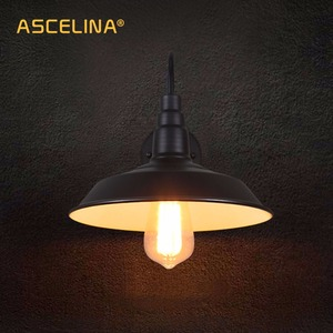 Image 2 - Loft Industrial Wall Lamp Vintage wall Light LED Retro lamp American Country Simplicity Restaurant living room decoration light