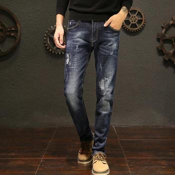 2019 offres spéciales longue longueur élégant Jeans pour hommes Top qualité homme pantalon livraison gratuite