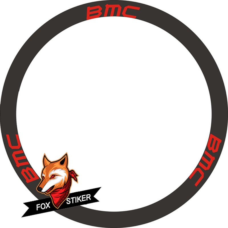 700C Bike Rim Sticker 35/38/45/50/60/88mm Road Bicycle Stickers Cycle Road Wheels Decal For BMX Wheel Sticker