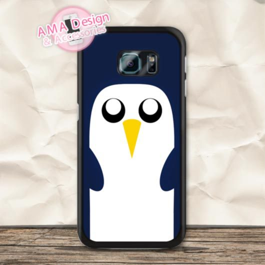 Gunter Penguin Adventure Time Case For Samsung Galaxy S8 S7 S6 Edge Plus S5 S4 mini active Ace 4 Core S3 Win