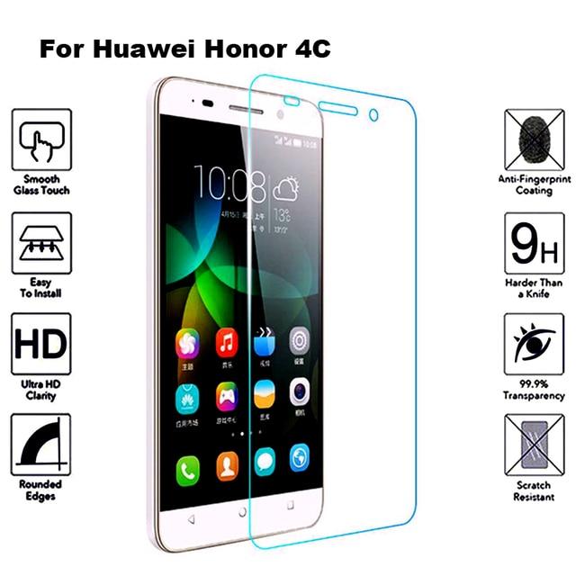 2Pcs Tempered Glass For Huawei Honor 4C Screen Protector Film Protective Glass For Huawei Honor 4C Honor4c CHM U01 CHM U01