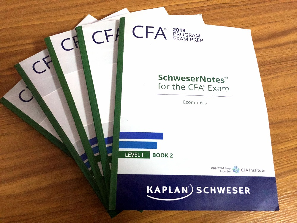 2019 Cfa Level 1 Schweser Study Notes  Formula List