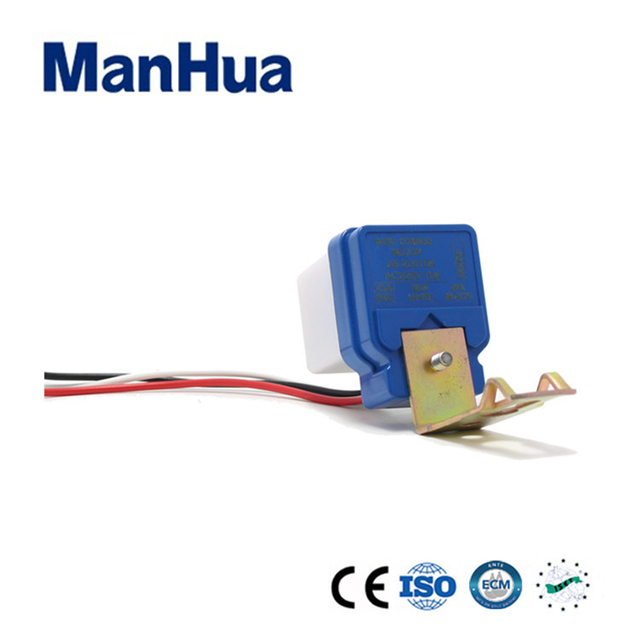 Manhua hot product 120 220 240VAC photoelectric switch MF-06 for Street Light and Garden Light Switch Home Automatio Smart Home
