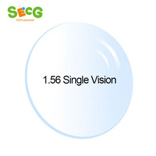 1.56 Index Clear Optical Single Vision Lens Radiation Protection Anti-UV  Astigmatism Myopia Hyperopia Prescription Lenses 2Pcs
