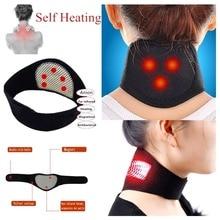 Магнитная терапия, массажер для шеи, самонагревающийся массаж шеи, облегчающий боль, грелка для шеи, защита, китайский медицинский массажер, инструмент для ухода за шеей