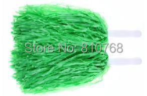 Free Shipping Green Supplies Cheerleaders Took The Ball Ball Cheerleaders Flower Plastic Hand Flowers Cheerleading Pom Poms#1829
