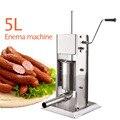 5л колбасная машина для переработки мяса  машина для приготовления колбас  ресторан  бытовая нержавеющая сталь