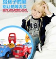 Baby Big Electronic Cars For Kids Baby Ride On Toy Car Baby Toddler Music Seat Storage Box Glide Car Free Shipping