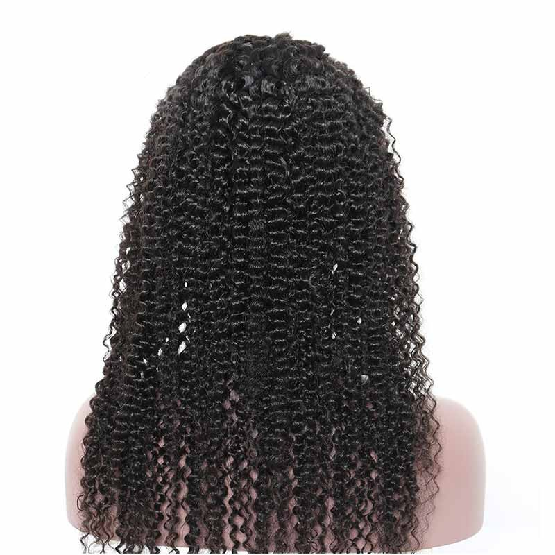 150% Kinky Curly Human Hair Wig Pre Plucked Lace With Baby Hair Front Human Hair Wigs For Women Brazilian Wigs Comingbuy Remy