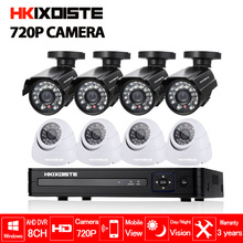 2000TVL 720P HD Indoor Outdoor CCTV camera Security Camera System 1080N Home Video Surveillance DVR Kit 8 CH 1080P HDMI Output