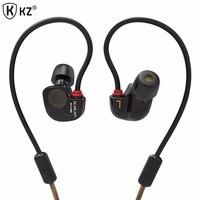 Original KZ ATE S In Ear Earphones HIFI Copper Driver Headphones With Mic Super Bass Headphones