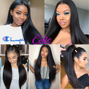 Image 5 - Celie Straight Hair Bundles With Frontal 3 Bundles With Closure Human Hair Bundles With Frontal HD Lace Frontal And Bundles
