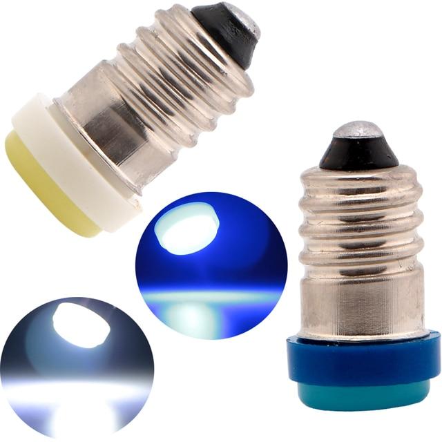 200 Teile/los E10 F10 1 SMD LED Schraube Basis Glühlampen 12 V Auto ...