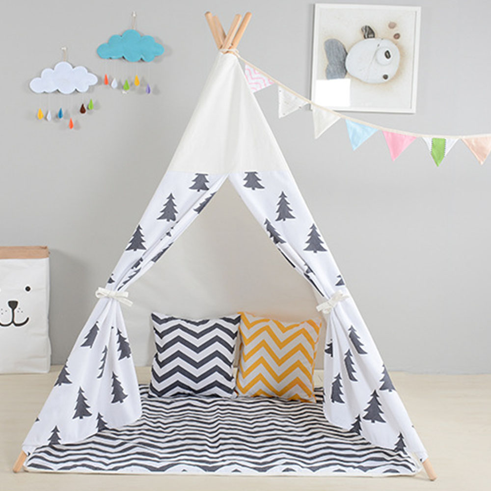 Kids Play Tent Soft Canvas Baby Playhouse Cute Dream Tents