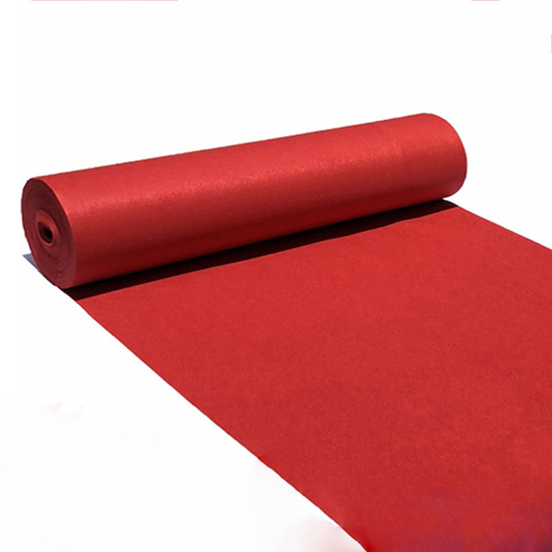 Thin Section Aisle Foyer Red Carpet Corridor Hotel Lobby Carpet Wedding Banquet Home Textiles Exhibition Event Supplies