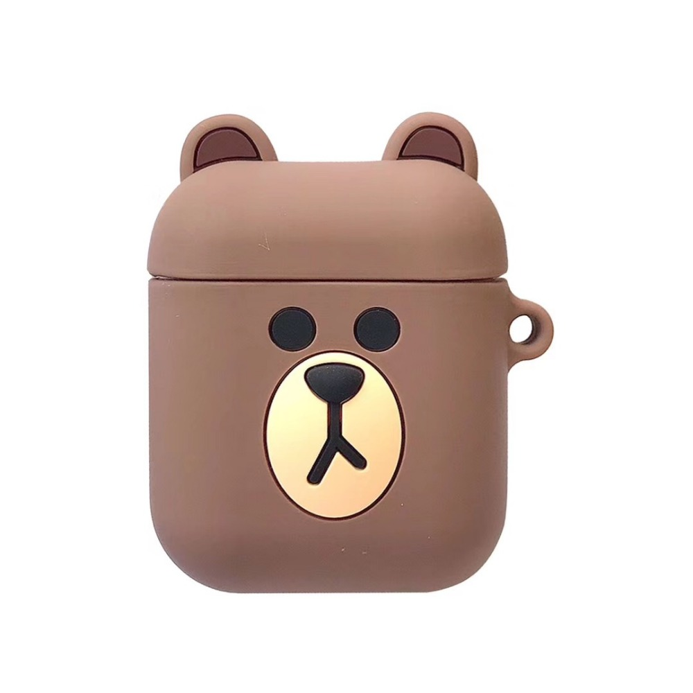 Image 3 - Cartoon Wireless Bluetooth Earphone Case For Apple AirPods Silicone Charging Headphones Cases For Airpods Protective Cover-in Earphone Accessories from Consumer Electronics