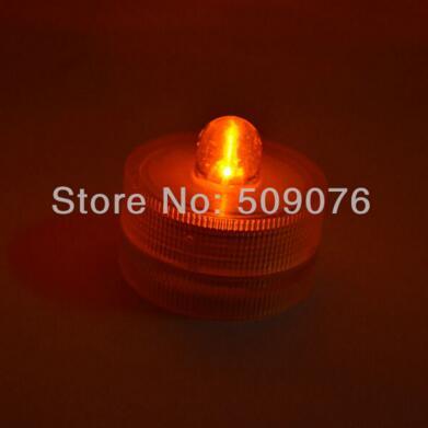 24 шт./лот 8 видов цветов беспламенный свечах привело свечи водонепроницаемый светодиодные свечи для свадьбы - Цвет: yellow