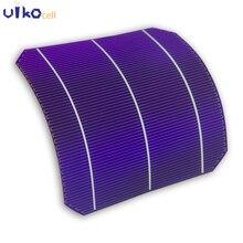 30Pcs High Efficiency Semi Flexible Mono Sunpower Solar Cell Bend 6×6 Grade A For DIY Monocrystalline Silicon Panel