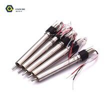 Нагревательный элемент из нержавеющей стали для высокочастотной паяльной станции 203H KNOKOO 5 шт./пакет H1203 90W
