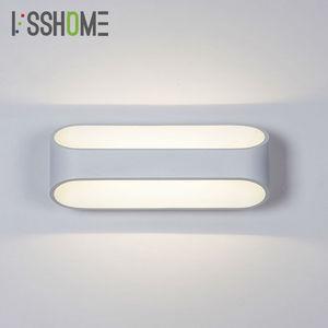 [VSSHOME] 5W 10W lampy ścienne LED możliwość przyciemniania dekoracja sypialni obok czytania oświetlenie wewnętrzne salon lampa do korytarza AC90-260V