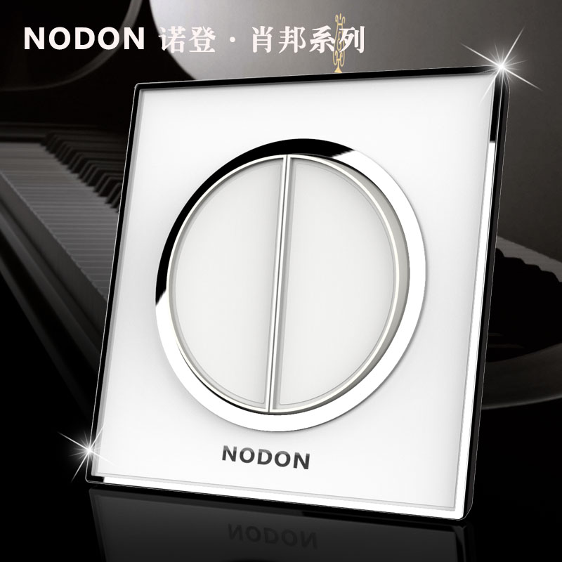 Norden acrylic glass crystal mirror switch socket double panel double control switch 2gang 1way  эмаль акриловая eskaro norden 70 универсальная 2 7л