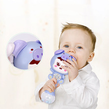 Cartoon Pig Light Music Playing Story Learning Machine Children Early Educational Baby Musical Toys Children's Educational Toys