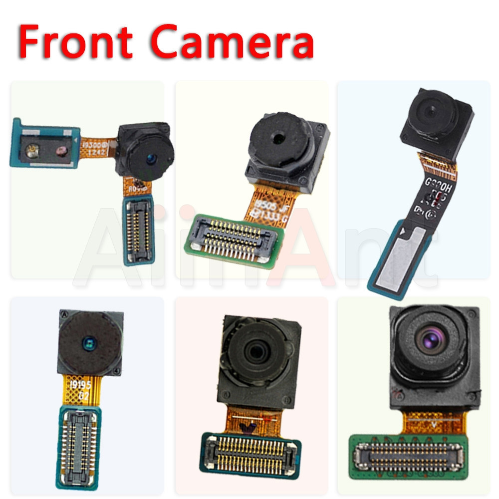 Original Front Camera Flex For Samsung Galaxy S3 I9300 S4 Mini I9500 S5 G900F S6 S7 Edge Plus Face Camera Flex Cable Replacement