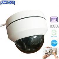 OWLCAT SONY 1080P 2 0MP 2 5 Mini CMOS Indoor Outdoor Dome IP Camera PTZ 3X