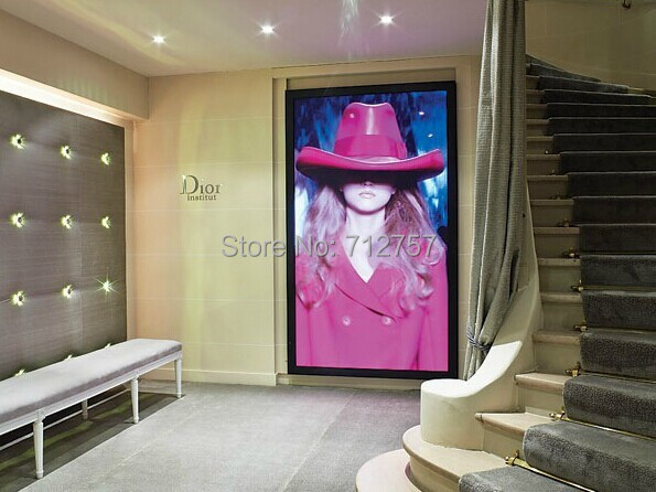 Advertising Product A0 Size Snap Frame Ultra Thin Advertising Led ...