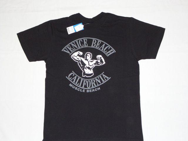 Muscle Venice Beach Ca Gymer New T Shirt S 3xl Retro Arnold Schwarzenegger