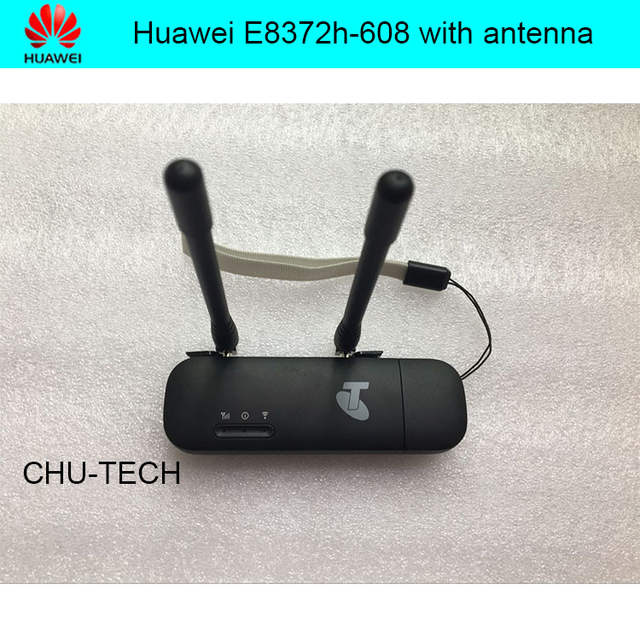 Unlock Huawei E8372 E8372h-608 black color with antenna LTE USB Wingle LTE  Universal 4G USB WiFi Modem car wifi