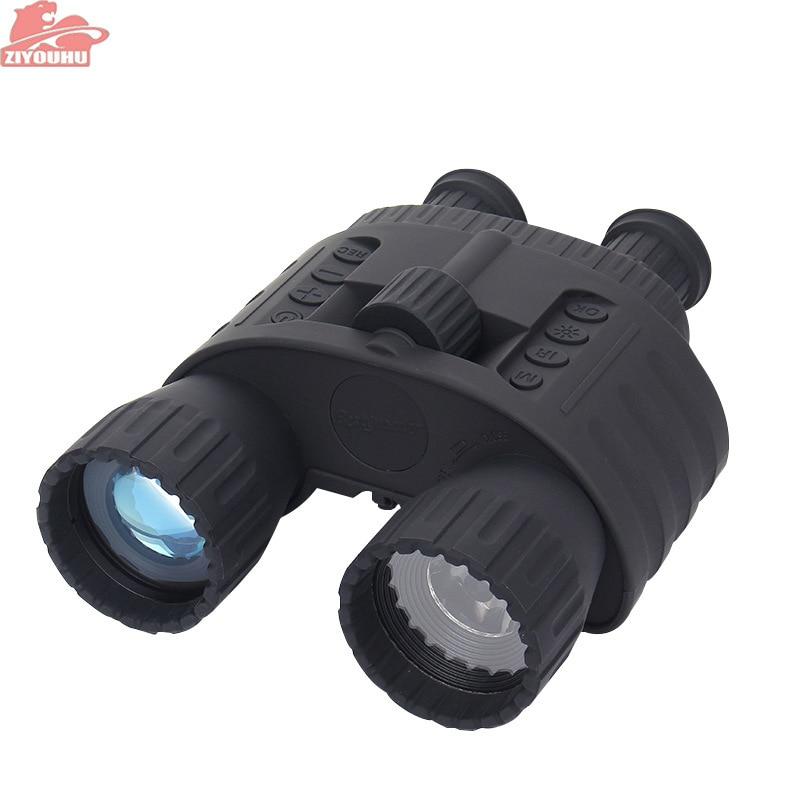 ZIYOUHU Night Hunting Binoculars 4x50 Digital Night Vision Scope NV Scope 5mp Photo 720p Video Night Vision Optical
