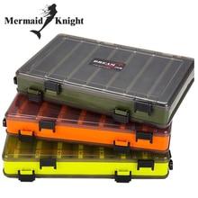 Рыболовная приманка коробка двухсторонняя коробка для рыболовных снастей рыболовная приманка Egi Squid Jig Pesca аксессуары коробка Minnows Bait рыболовная приманка Контейнер для снастей