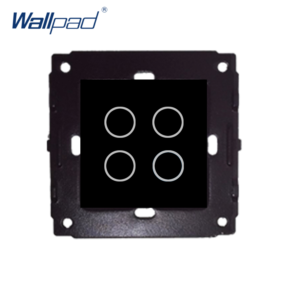 Aliexpress Com   Buy Wallpad 4 Gang 2 Wall Touch On  Off 4