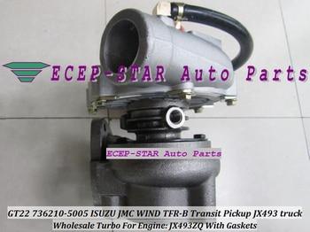 Refroidi Par huile Turbo GT22 736210 736210-0007 736210-5007 736210-5009 736210-5003 Turbine Turbocompresseur Pour Camion JMC 1118300SBJ 63kw