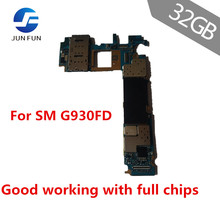 JUN FUN for Samsung Galaxy S7-Edge G930FD 32GB Eu-Version Mainboard Android OS Unlock