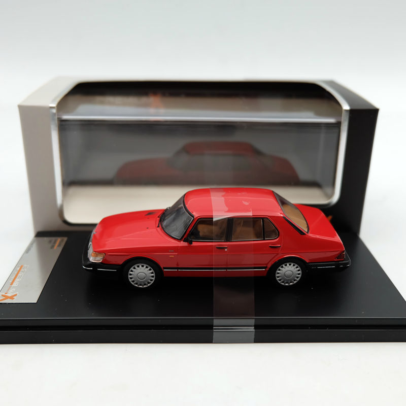 Premium X 1 43 SAAB 900i 1987 Red PRD449 Models Resin Auto Limited Edition Collection