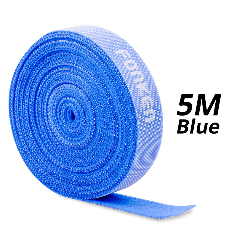 5m Blue Velcro