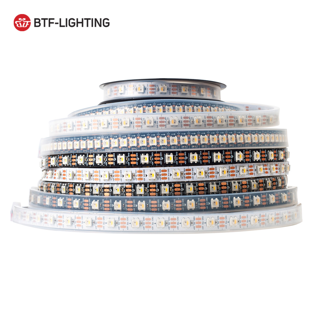 sk6812-rgbw-similar-ws2812b-4-in-1-1m-4m-5m-30-60-144-leds-pixels-m-individual-addressable-led-strip-ip30-ip65-ip67-dc5v