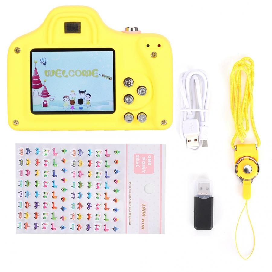 Cartoon Mini Digital Cute Children Camera Video Toy Gift for Boys Girls Mini Camera