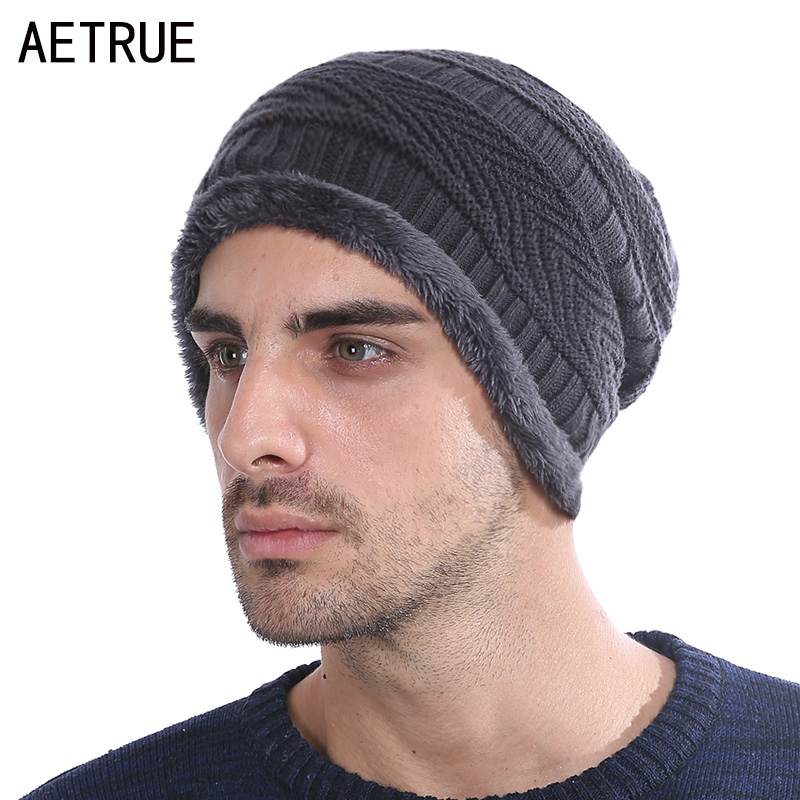 New Arrival Beanies Men Winter Hats For Women Men Knitted Hat Caps Gorros Warm Moto Balaclava Fur Winter Beanie Bonnet Hat 2017 new gorros 2017 fashion casual men skullies beanies winter hats keep warm women knitted stripe hat warm baggy balaclava caps