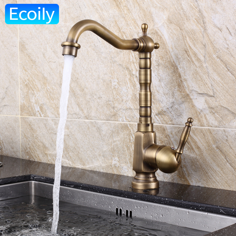 retro kitchen faucet new design solid brass bronze swivel retro kitchen faucet american pastoral style vessel sink 2304