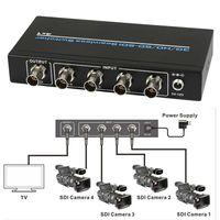 4 Порты и разъёмы BNC SDI/hd sdi/3G SDI бесшовные Switcher Масштабирование 4x1 переключатель 1080 P + ИК Дистанционное управление без потерь на большие рассто