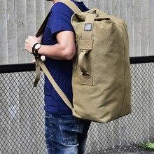Большой Вместительный рюкзак для путешествий, мужская спортивная сумка, рюкзак, спортивная сумка для путешествий, Холщовая Сумка на плечо, мужские спортивные сумки