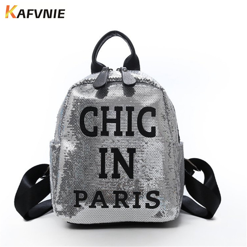 Mini Travel  Backpack  For Girls Shiny Silver Pink Backpack Women Bag Pu Leather Men School Bags For Valentine's Gift Bag