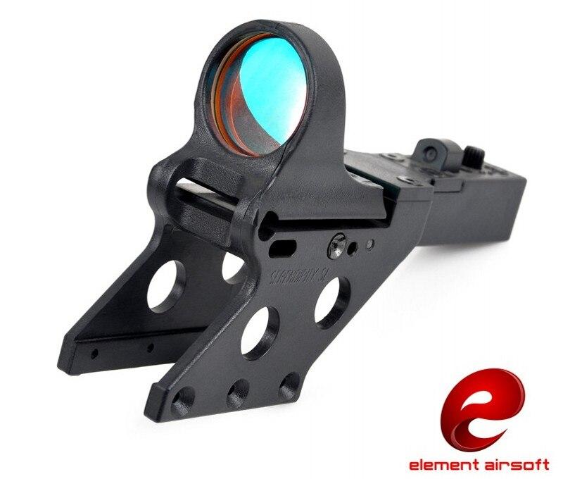 Elemento Airsoft Tattico SeeMore Reflex Red Dot Sight Per HI-CAPA Militare Paintball Caccia Ottica Scope EX183